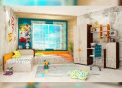 Как да обзаведем просторна детска стая за две деца